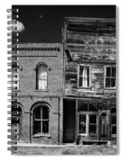 The Last Frontier - Bodie - California Spiral Notebook