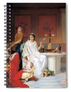 The Last Hour Of Pompeii Spiral Notebook
