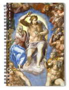 The Last Judgment - Detail Spiral Notebook