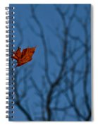 The Last Leaf Fell Spiral Notebook