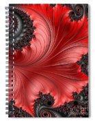 The Last Leaf Spiral Notebook