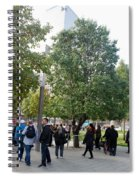The Last Living Thing Pulled From The Rubble... The Survivor Tree Spiral Notebook