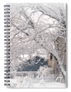 The Last Snow Storm Spiral Notebook