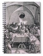 The Last Supper From The 'great Passion' Series Spiral Notebook