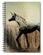 The Last Unicorn Spiral Notebook