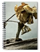 The Last Yellow Rose Of Summer Spiral Notebook