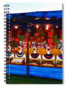 The Laughing Clowns  Spiral Notebook