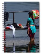 The Laundry - Nepal Spiral Notebook