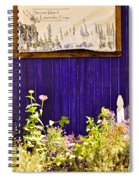 The Lavender Spiral Notebook