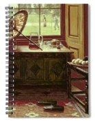 The Lawn Tennis Season, 1881 Spiral Notebook