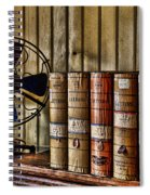 The Lawyers Desk Spiral Notebook