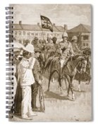 The Leader Of The Allies, Illustration Spiral Notebook