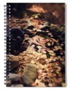 The Leaf Swirl  Spiral Notebook