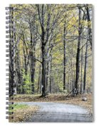 The Leaves Are Falling Spiral Notebook