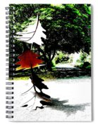 The Leaves Will Soon Start To Fall  Spiral Notebook