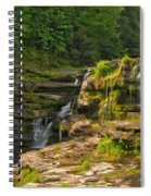 The Ledges Waterfalls Spiral Notebook