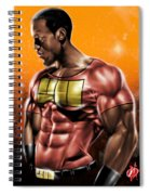 The Legend Of Will Power Spiral Notebook