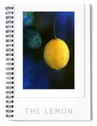 The Lemon Poster Spiral Notebook