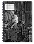 The Lesson Monochrome Spiral Notebook