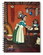 The Lesson Or Making Tortillas Spiral Notebook
