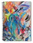The Letter Kuf 2 Spiral Notebook