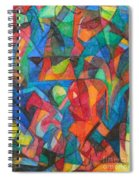 The Letter Raish 2 Spiral Notebook