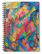 The Letter Shin 2 Spiral Notebook