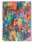 The Letter Tav 2 Spiral Notebook
