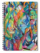 the letter Tzadi 2 Spiral Notebook
