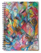 The Letter Yud 2 Spiral Notebook