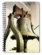 The Liberty Bell Spiral Notebook
