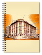 The Life Saver Building Spiral Notebook