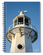 The Lighthouse At Mevagissy Spiral Notebook