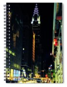 The Lights Of New York City Spiral Notebook
