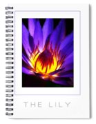 The Lily Poster Spiral Notebook