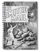 The Limited Mail, 1899 Spiral Notebook
