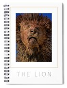 The Lion Poster Spiral Notebook