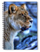 The Lioness Alert Spiral Notebook