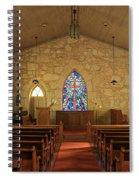 The Little Church Of La Villita Spiral Notebook