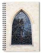 The Little Church Window Spiral Notebook