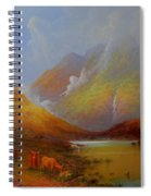 The Little Croft On The Isle Of Skye Scotland Spiral Notebook