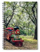 The Little Engine That Could - City Park New Orleans Spiral Notebook