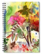 The Little House On The Prairie Spiral Notebook