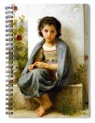 The Little Knitter Spiral Notebook