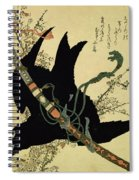 The Little Raven With The Minamoto Clan Sword Spiral Notebook