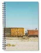 The Little Red Engine Spiral Notebook