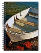The Little Rowboat Spiral Notebook