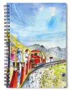 The Little Train Of Artouste Spiral Notebook