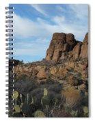 The Living Desert Of Arizona Spiral Notebook