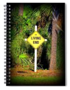 The Living End Spiral Notebook
